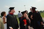 Graduates after the Spring 2011 Graduation