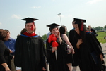 Graduates after the Spring 2011 Graduation - 2