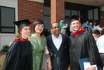Graduates and Friends after the Spring 2011 Graduation - 6