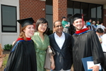 Graduates and Friends after the Spring 2011 Graduation - 7