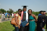 Monroe Parker and Family after the Spring 2011 Graduation - 2