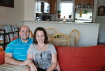 Brad and Maranda Bogue in Their Kalas Village Home