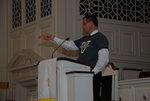 J.D. Walt Preaching at His Farewell Chapel - 2