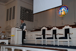 J.D. Walt Preaching at His Farewell Chapel - 3