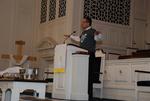 J.D. Walt Preaching at His Farewell Chapel - 7