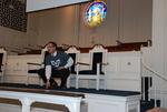 J.D. Walt Preaching at His Farewell Chapel - 13