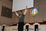 J.D. Walt Preaching at His Farewell Chapel - 20