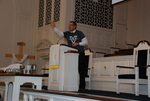 J.D. Walt Preaching at His Farewell Chapel - 25