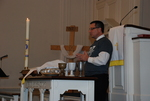 J.D. Walt Celebrating Communion at His Farewell Chapel - 2