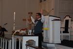 J.D. Walt Celebrating Communion at His Farewell Chapel - 4