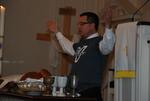 J.D. Walt Celebrating Communion at His Farewell Chapel - 5