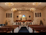 Estes Chapel Decorated for Christmas (nef) - 8