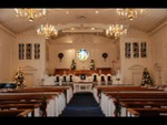 Estes Chapel Decorated for Christmas (nef) - 9
