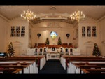 Estes Chapel Decorated for Christmas (nef) - 13