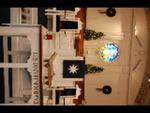Estes Chapel Altar Area Decorated for Christmas (nef)