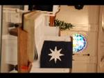 Estes Chapel Altar Area Decorated for Christmas Close Up (nef)