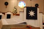 Estes Chapel Altar Area Decorated for Christmas Close Up (jpg) - 3