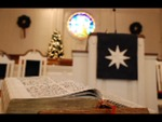 Estes Chapel Altar Area Decorated for Christmas Close Up (nef) - 3