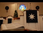 Estes Chapel Altar Area Decorated for Christmas Close Up (nef) - 4