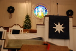 Estes Chapel Altar Area Decorated for Christmas Close Up (jpg) - 5