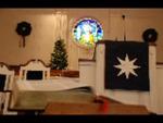 Estes Chapel Altar Area Decorated for Christmas Close Up (nef) - 5