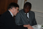 Dr. David Bauer and Dr. William Udotong