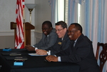 Dr. William Udotong, Dr. Tim Tennent, and Dr. Douglas Carew
