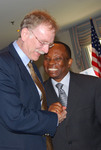 Dr. Mark Royster Laughing with Dr. Douglas Carew