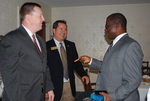 Bryan Blankenship, Kevin Bish, and Dr. William Udotong Talking