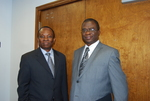 Dr. Douglas Carew and Dr. William Udotong