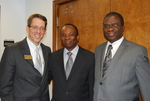 Dr. Tim Tennent with Dr. Douglas Carew and Dr. William Udotong