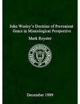 John Wesley's doctrine of prevenient grace in missiological perspective