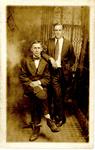 George B. Ellis and Joseph Dooma (back)