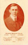 Portrait of portrait George B. Ellis with list of references