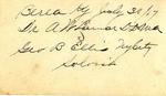 George B. Ellis with A. W. Lamar, DD (Back)