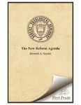 The New Reform Agenda