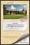 Keswick: a Bibliographic Introduction to the Higher Life Movements by David D. Bundy