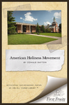 The American Holiness Movement: A Bibliographic Introduction by Donald W. Dayton