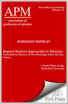 Beyond Western Approaches to Missions: Postindustrial Missions & The Missiology within Hip Hop Culture