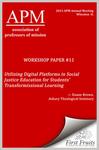 Utilizing Digital Platforms in Social Justice Education for Students' Transformissional Learning