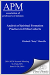 Analysis of Spiritual Formation Practices in DMiss Cohorts
