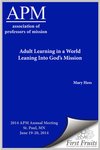 Adult Learning in a World Leaning Into God's Mission