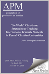 The World's Christians: by Janice Horsager Rasmussen