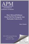 Mary McLeod Bethune: