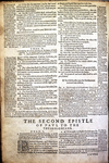 1 Thessalonians 4:15-5:28 and 2 Thessalonians 1:1-4, 1598 Geneva Bible