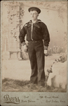 John P. Johnson sailor of U.S.S. Fish Hawk, Oct 16, 1892