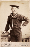 Sailor John S. Colburn of U.S.S. Chicago, June 1894