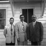 Men associated with Iowa Wesleyan Methodist Conference Camp Meeting