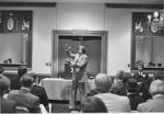 Maxwell, Rev. John giving Christian Holiness Association seminar