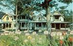 Postcard of Camp Grounds, Oak Bluffs, MA (on Martha's Vineyard)